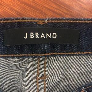 J Brand Jeans - J Brand Dark Blue Straight Leg Jeans